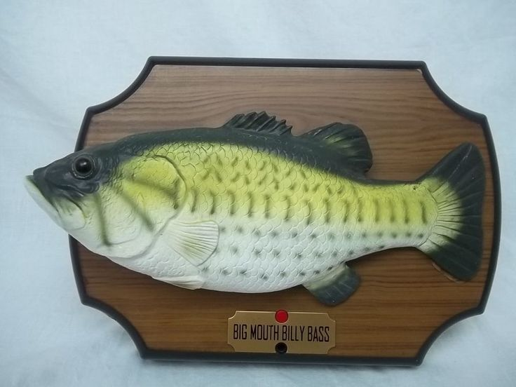1000 images about my ebay items for sale on pinterest for Big mouth billy bass singing fish