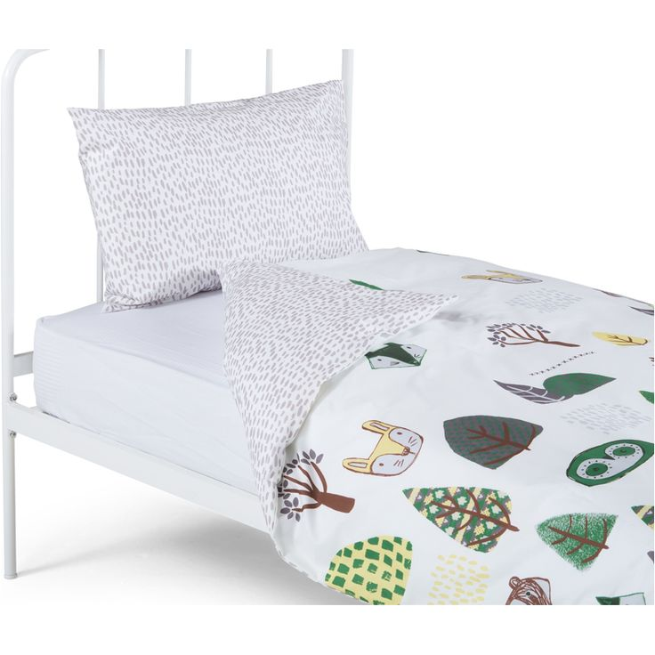 Pipkin 100% Cotton Single Bed Set, Multicolour from Made.com. Multi-Coloured. Express delivery. Let us introduce you to Pipkin. A duvet cover and pi..