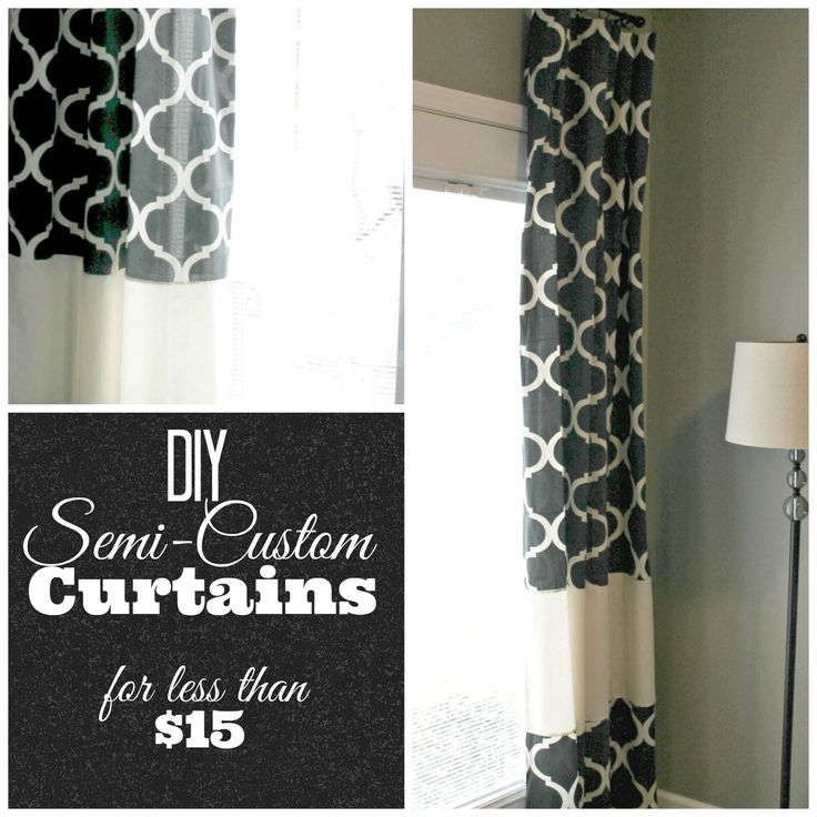 grace lee cottage diy semicustom curtains a tutorial how to