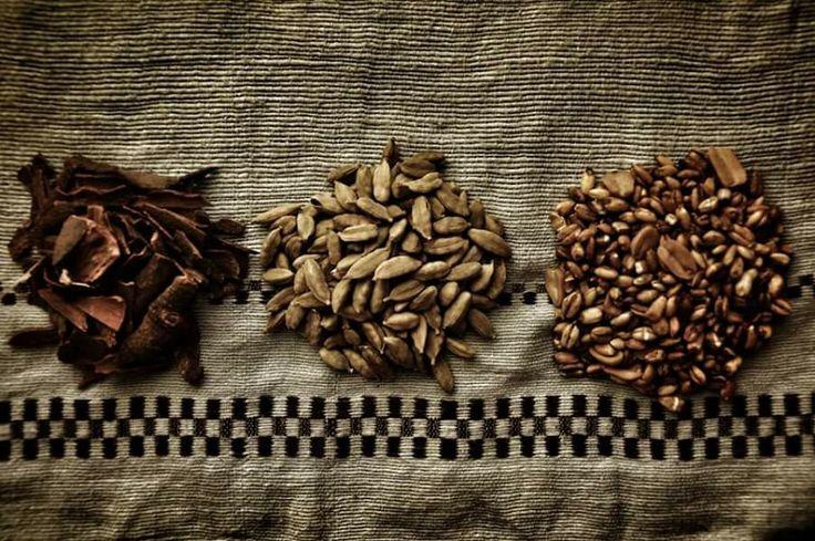 Cinnamon, cardamum and wheat