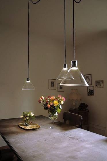 Lighting design / glass