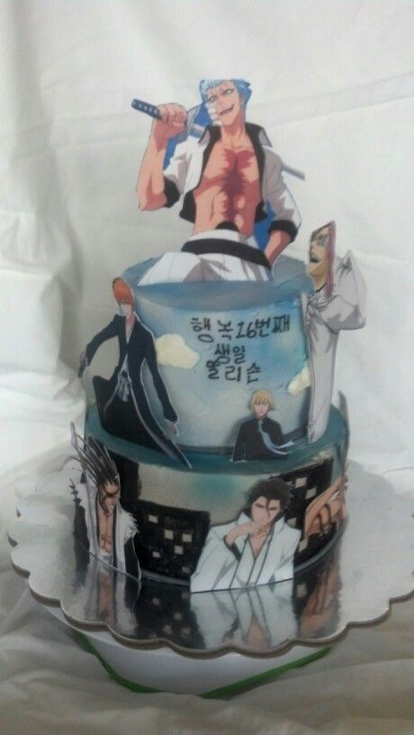 Anime With Cake
