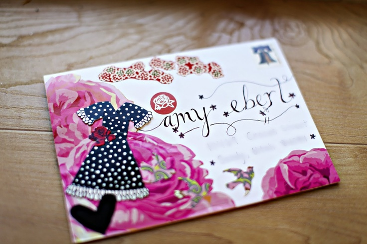 isavirtue: mail art monday | a good mail day and brittany d