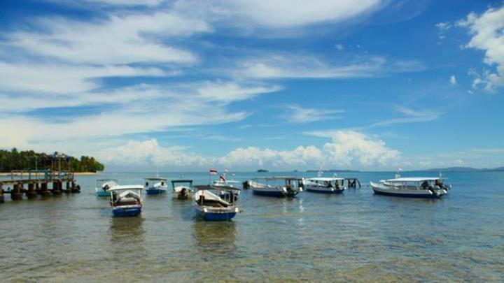 Carocok Beach, Painan, West Sumatera - Indonesia