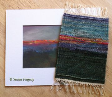 Susan Fuquay — Weaving and painting