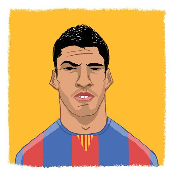 Barca's newest striker