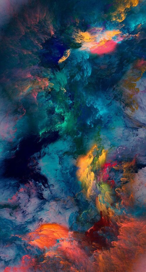 Great colors.  Love this abstract