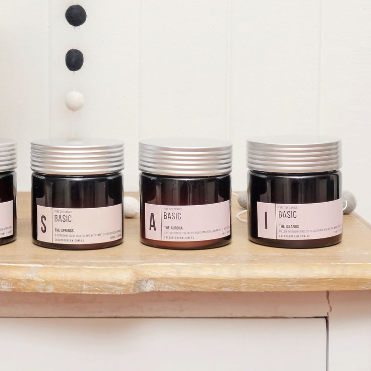 Y U M M Y | Make your home burst with delicious scents from our amazing candle range. SHOP | www.daisychainstore.com.au