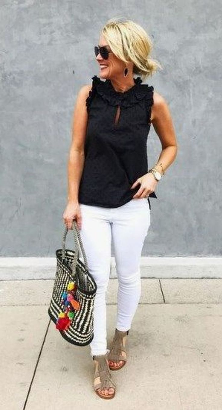 Summer Outfits Over 40 Spring Outfits Trendy Summer Outfits Classy Summer Outfits Summer Outfits Women Over 40 [ 1357 x 736 Pixel ]