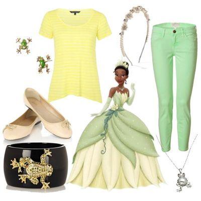 How to dress like a Disney princess ~ Tiana