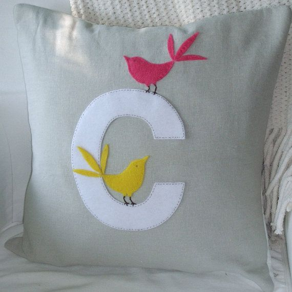 Such a beautiful handmade pillow!  Love it!