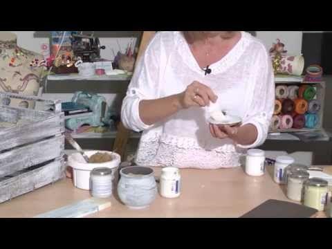 VIDEO #CreattivaChannel Creare con la Polvere Ceramica - YouTube