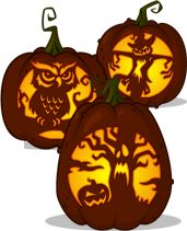 Get all you pumpkin carving patterns and stencils at Zombie Pumpkins!