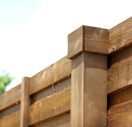 Horizontal Fence Diy: Hi Sugarplum!: {The Backyard} A New Horizontal Fence