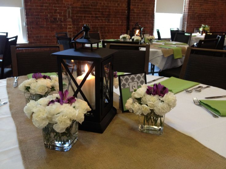 Simple Dinner Centerpiece : Simple… wedding shower ideas pinterest