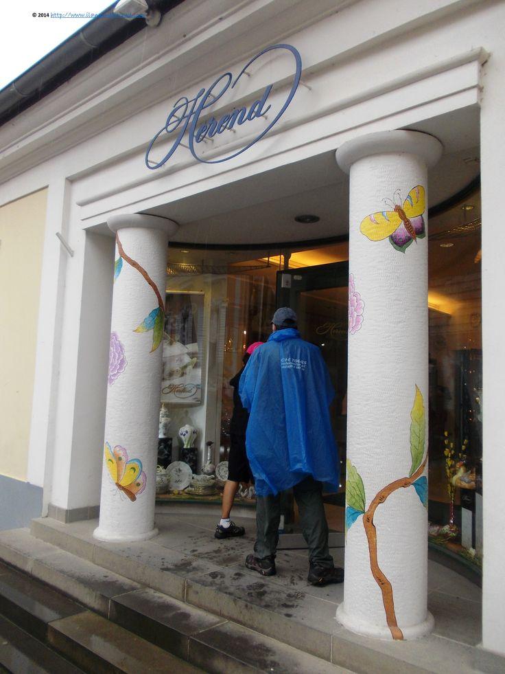 Herend porcelain shop