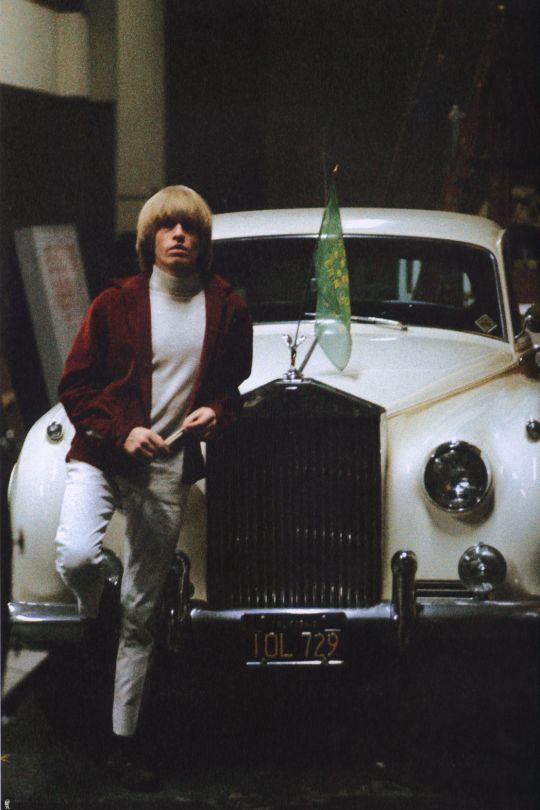 Brian Jones in Los Angeles, 1965.
