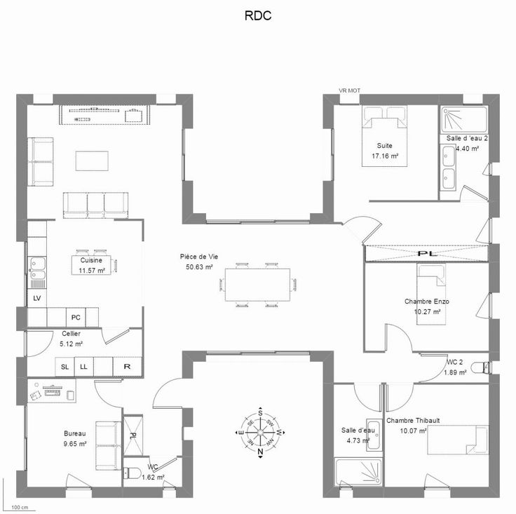 Meilleur Logiciel Architecture Gratuit Le Meilleur De 24 Des Plan Maison En H (avec images ...