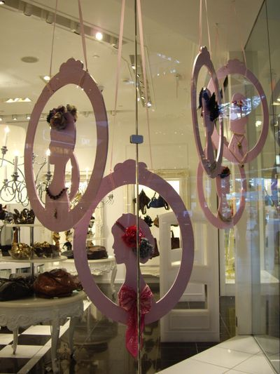 paper/foam board silhouettes #Window #Display Retail Details blog for display ideas