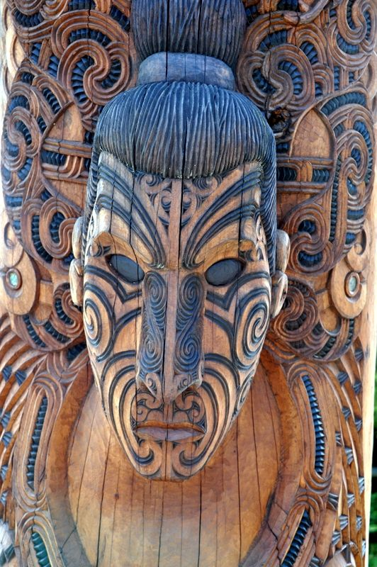 Wood carving --- Rotorua , New Zealand ♣️Fosterginger.Pinterest.Com♠️ More Pins Like This One At FOSTERGINGER @ PINTEREST No Pin LimitsFollow Me on Instagram @  FOSTERGINGER75 and ART_TEXAS