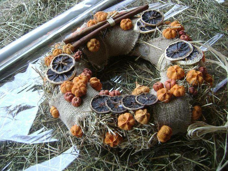 Couronne fleuries objets d co latelierdechristine fait maison couronnes de no l - Couronne de noel fait maison ...