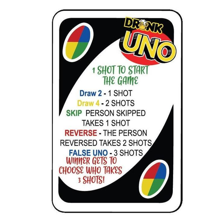 Pin by asia williams on crafts drinking game rules uno