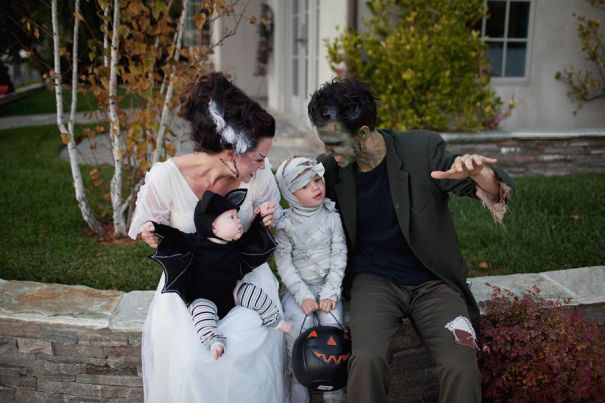 'Tis the season for tricks, treats and make believe. Since you're never too old to play dress up, get everyoneinvolved in the Halloween festivities with coordinated costumes for you and your little pumpkins. These families opted to forgo traditional store-bought gear in favor of homemadecreations and the results were spook-tacular. From classic film characters to literary favorites, the ideas...