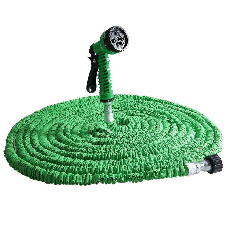 Expandable Magic Flexible Garden Water Hose with Spray