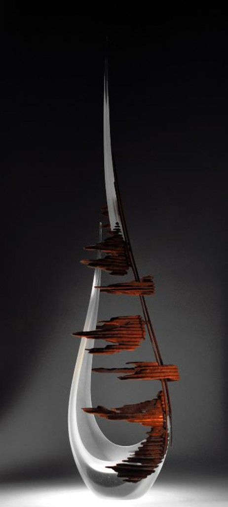 """*Art Glass - """"Far, Far Away"""" by Alex Fekete"""