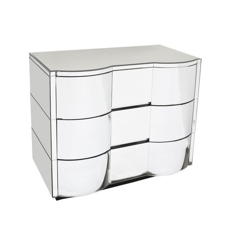 Miami Mirrored Chest of Drawers