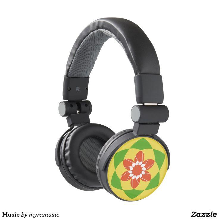 Music Headphones. Música, music. Producto disponible en tienda Zazzle. Tecnología. Product available in Zazzle store. Technology. Regalos, Gifts. #headphones #sound