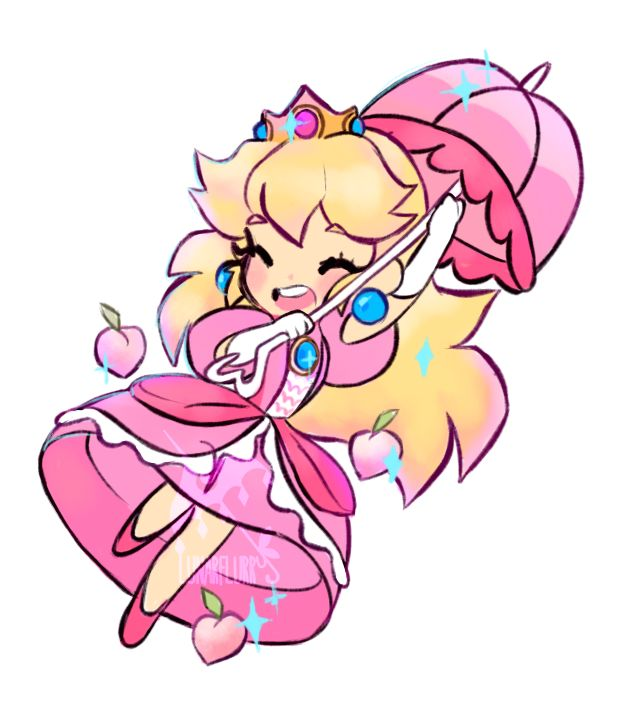 lunarflurry (The start of a line of sticker princesses I'm...)