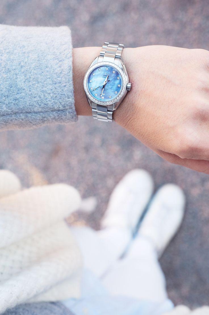 Omega Seamaster Women's watch photo by niki strbian