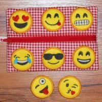 Emoji Badges (4x4) | All Sew Crafty