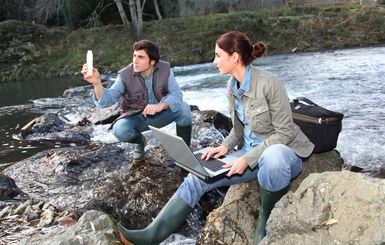 Environmental Engineers - goodluz / 123RF #maryland | Repinned by @mnorrisgeolab