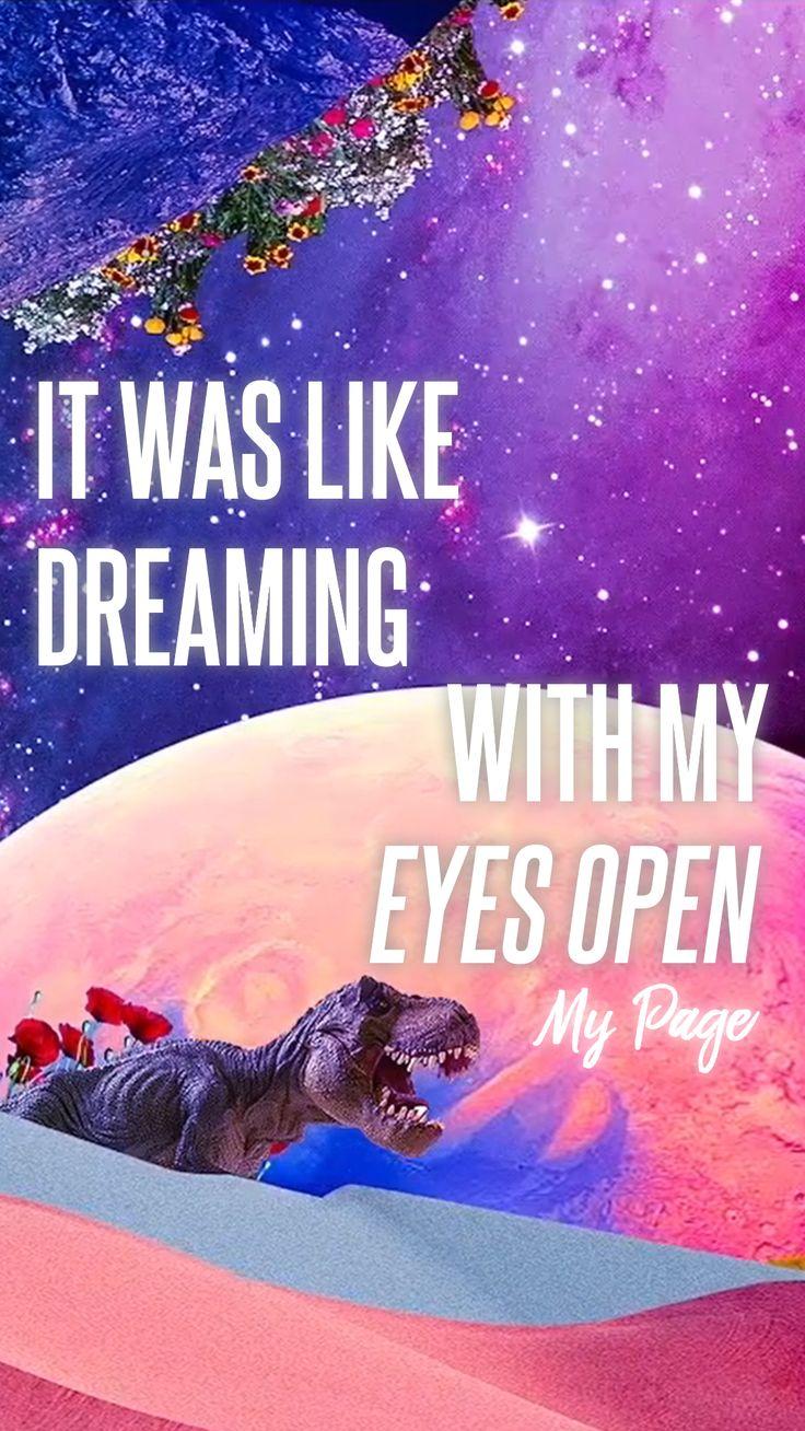 My Page / NCT Dream / nuneul tteugo kkumeul kkuneun geosman gata / It was like dreaming with my eyes open