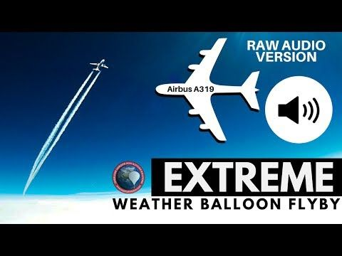 GoPro on Weather Balloon Captures an Airliner Flyby at 38,000 Feet Strapping GoPro cameras to high-altitude weather balloons to shoot photos and videos of the edge of space has been growing in popularity, but on …  https://petapixel.com/2017/06/09/gopro-weather-balloon-captures-airliner-flyby-38000-feet/