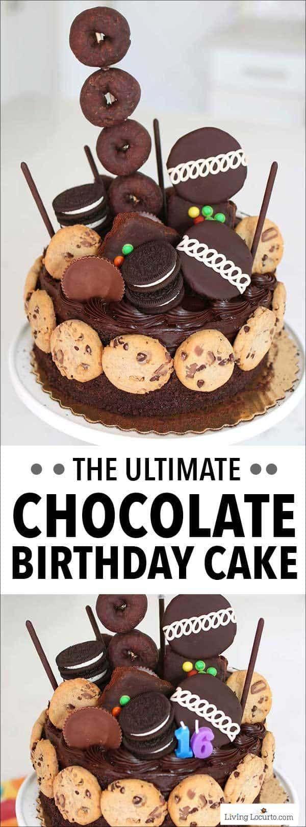 Machen Sie den ultimativen Schokoladengeburtstagskuchen in wenigen Minuten mit diesem …   – Kuchen