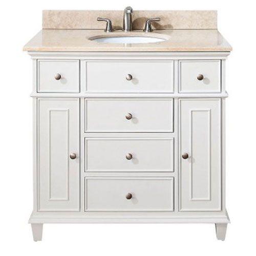 Windsor White 36 Inch Vanity Avanity Vanities Bathroom Vanities Bathroom Furniture