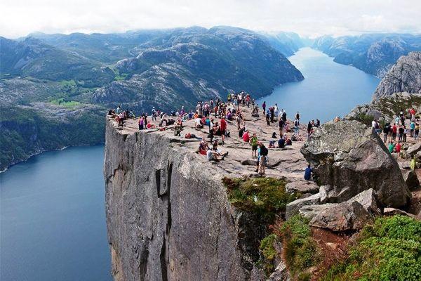 Norveç'e Turist Akını