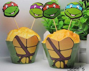 Awesome Free Printable Ninja Turtles Baby Shower Invitation Template