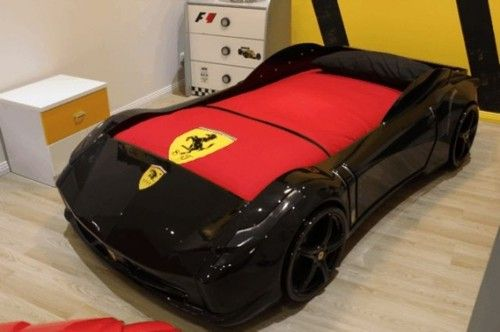 Details About Supercar Beds F1 Aero Spider Red Black White