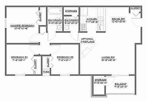 7 plantas de casas 3 quartos modelos plantas pinterest for Plantas de casas tipo 3