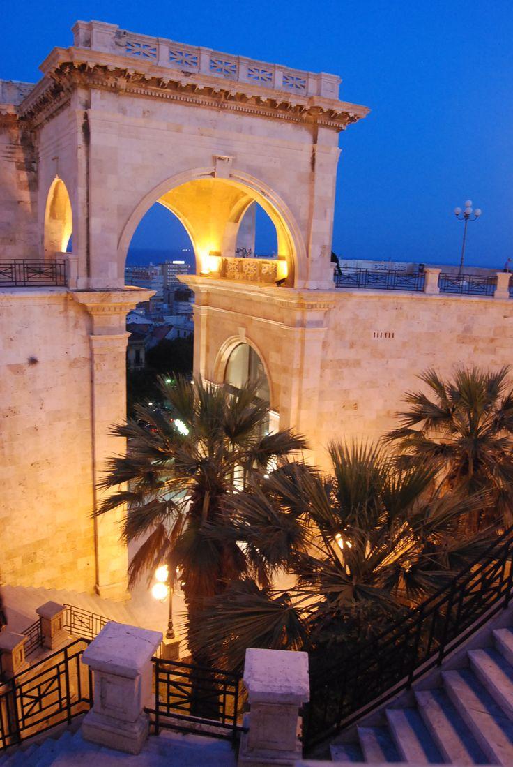 Bastione Saint Remy, Cagliari, Sardegna