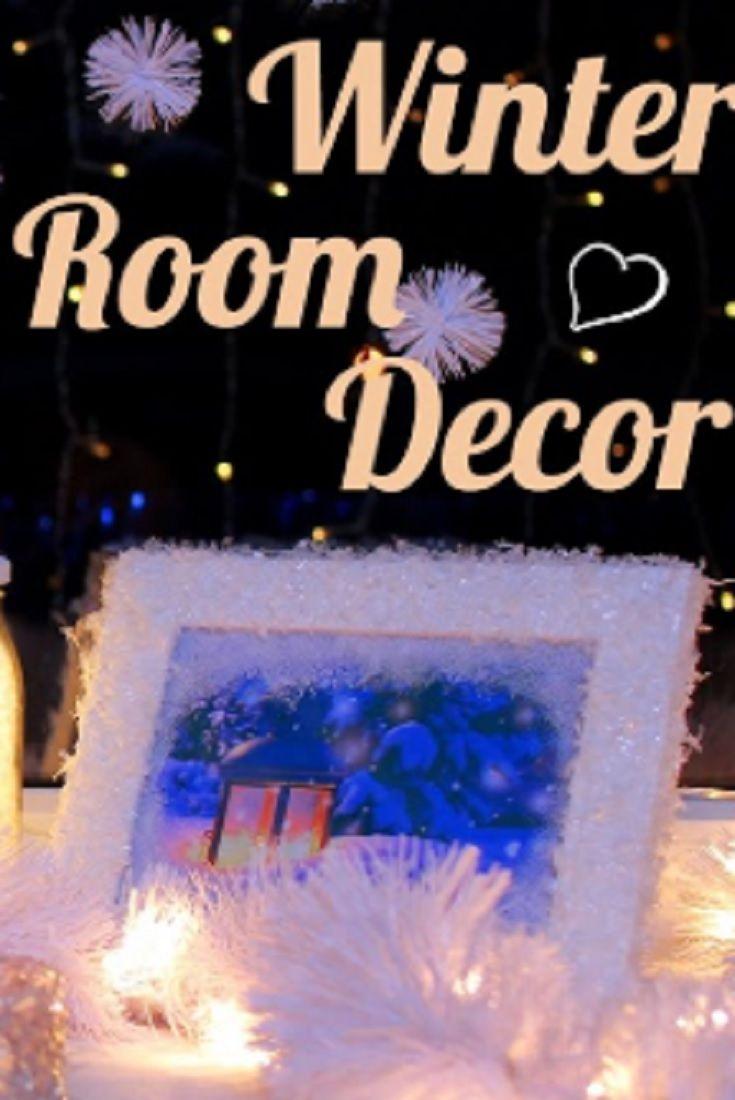 10 Amazing Diy Winter Room Decor Ideas Video Winter Diy Cool Diy Projects Diy