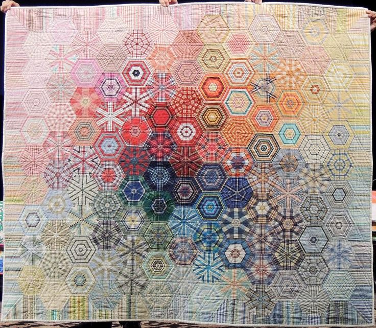 """""""Shirt Off His Back"""" by Charlotte B, shared during our Show and Tell at our meeting last Monday #scvqa #quilt #quilting"""