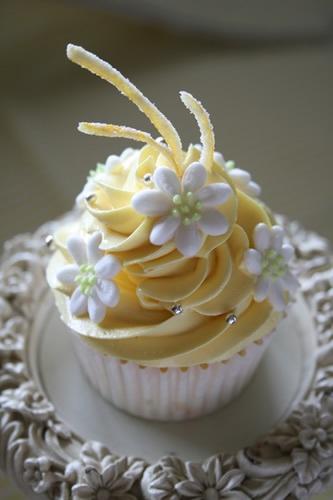 Lemon cupcakes - レモンカップケーキ