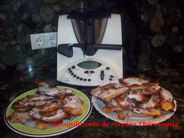 Recopilatorio de recetas : Orejas carnaval en Thermomix (Recopilatorio)