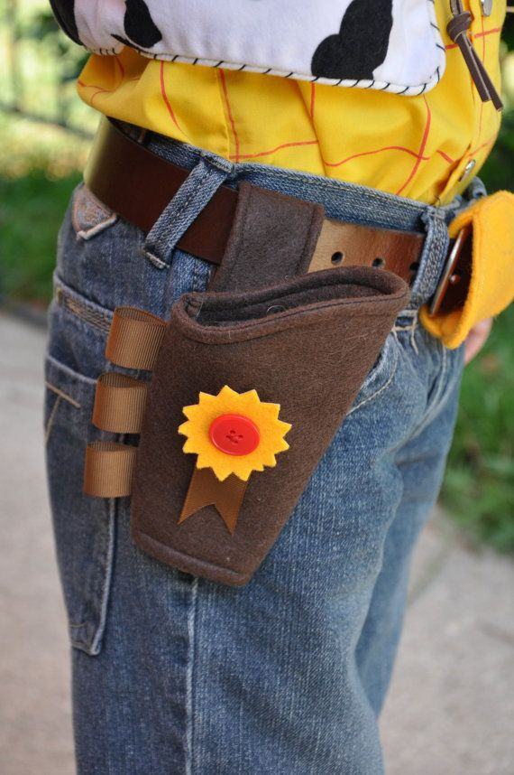 Toy Story Woody's Gun Holster Costume Piece   by TheFeistyDragon