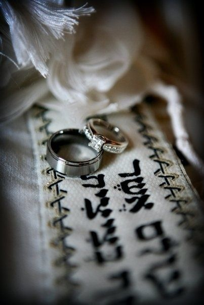 Beautiful wedding picture idea. love this jewish idea! :)